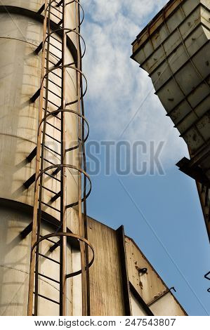 Abandoned Buildings In Dolni Vitkovice Industrial Area, Ostrava, Czech Republic