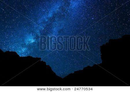 Milky Way Galaxy, Stars at Night