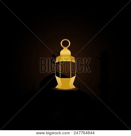 Fanoos Lantern Graphic Design Vector Graphic Design Template