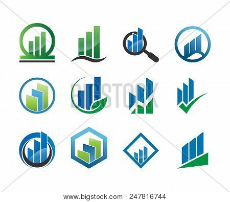 Collection Of Business Logo Icon Template Vector