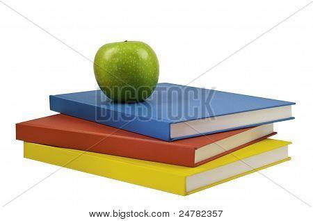 Three Coloured Books
