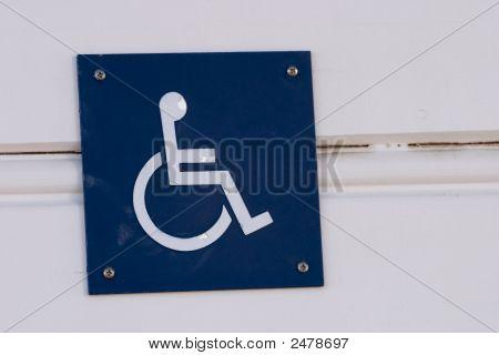 Wheelchair Access Sign