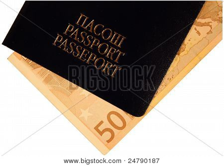 Passport and money