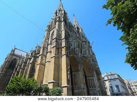 Basilica Of Saint Clotilde , 1827 Is A Basilica Church In Paris, Located On The Rue Las Cases, In Th