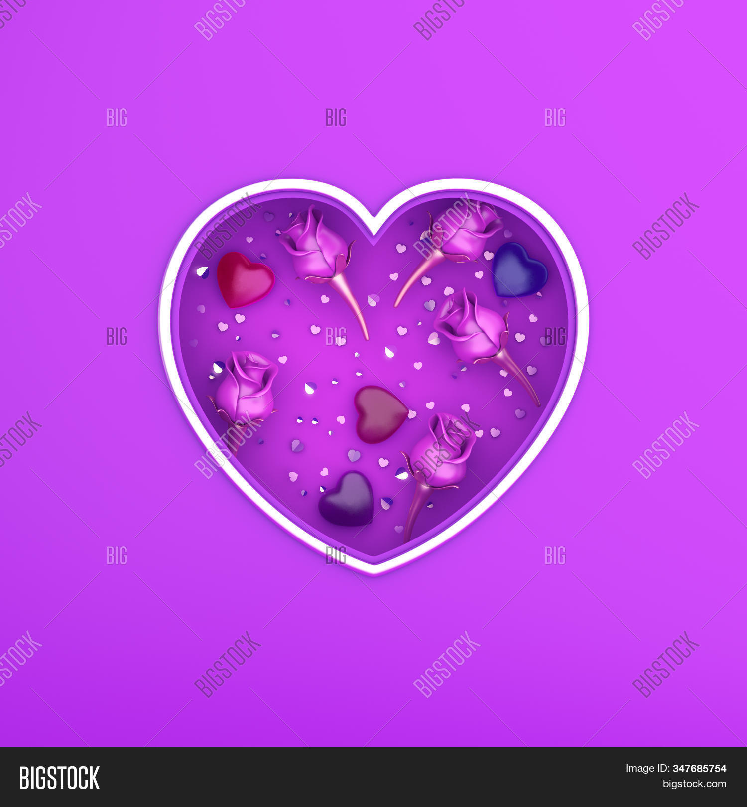 Happy Valentines Day Image Photo Free Trial Bigstock