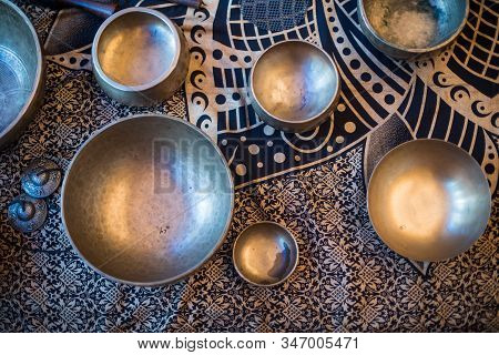 Tibetan Singing Bowls Are A Type Of Bell That Vibrates & Produces A Deep Tone When Played. Also Know