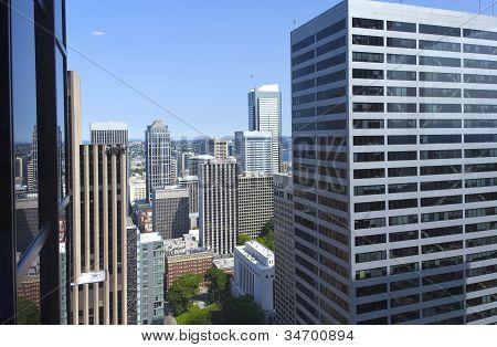 Between High Rises, Seattle Wa.