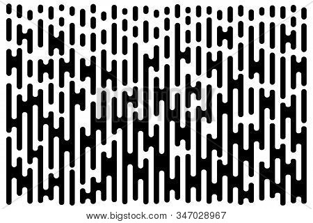 Lines Gradient Pattern. Vertical Halftone Line Texture. Abstract Template Using Half Tone Background