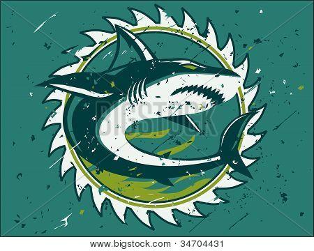 Shark Hunter Emblem