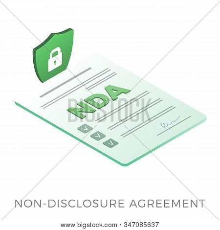 Nda - Non-disclosure Agreement, Proprietary Confidentiality Information Document. Employer And Emplo