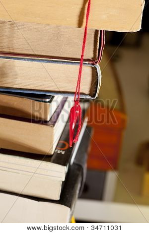 Lucky Rabbit's Foot, Bookmark And Books