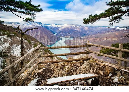 Viewpoint Banjska Stena Is One Of The Most Beautiful Viewpoints In Serbia, It Is Located On The Tara