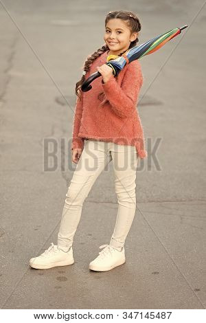 Carefree Weekend Walk. Fall Season. Colorful Fall Accessory Positive Influence. Brighten Your Fall M