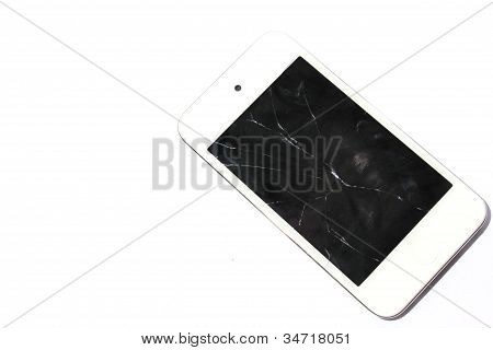 Cracked Smart Phone