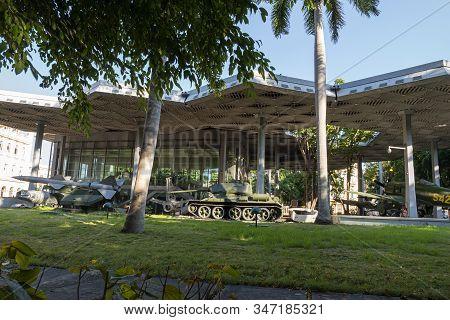 November 27, 2019, Havana, Cuba: Museum Of The Revolution In Havana. The Palace Was The Headquarters