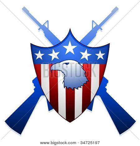 United States shield