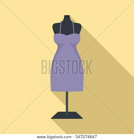 Atelier Mannequin Icon. Flat Illustration Of Atelier Mannequin Vector Icon For Web Design