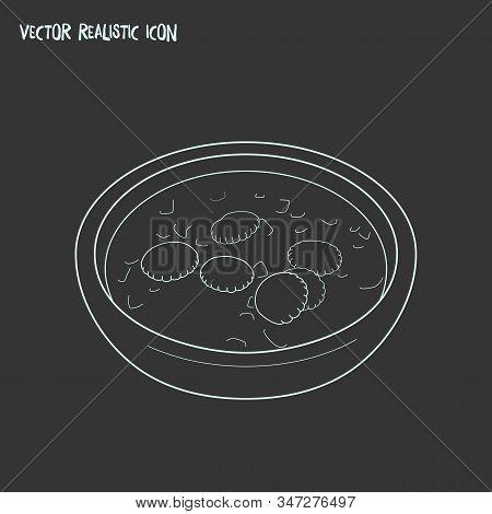 Massachusetts Icon Line Element. Vector Illustration Of Massachusetts Icon Line Isolated On Clean Ba