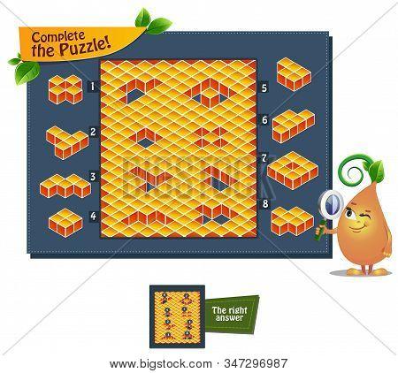 Shape Complete The Puzzle
