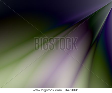 Smooth and silky purple fractal abstract background. poster