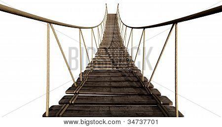 Rope Bridge Close Up