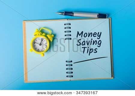 Money Saving Tips. Save Money For Investment Concept