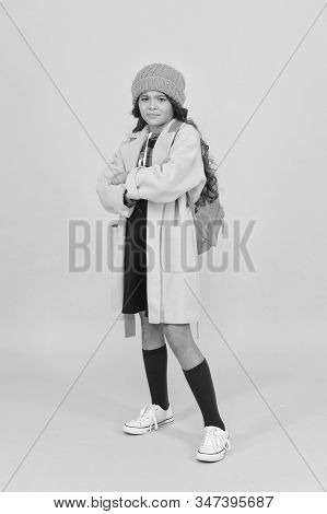 Fall Outfit. Modern Teen Outfit Concept. Outfit For Daily School Life. Feeling Cool And Stylish. Fal