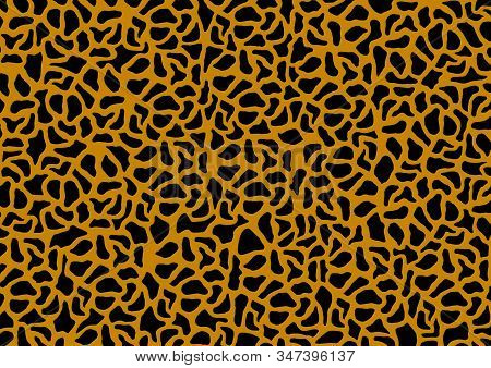 Leopard Pattern Design Animal Skin Background, Texture.