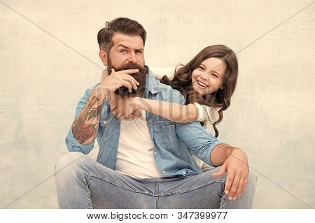 Strengthening Father Daughter Relationships. Child And Dad Best Friends. Friendly Relations. Fathers
