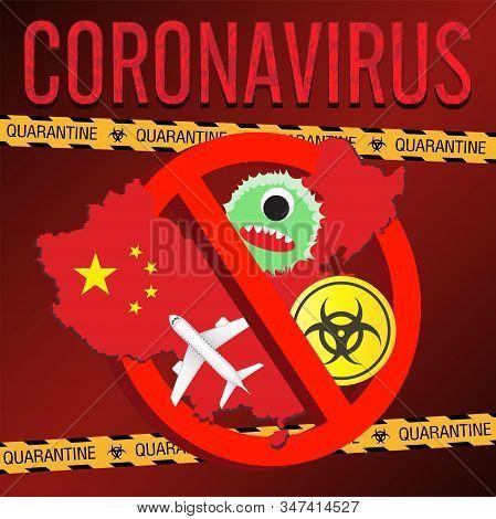 China Ban Wuhan Coronavirus 2019ncov Flu Banner
