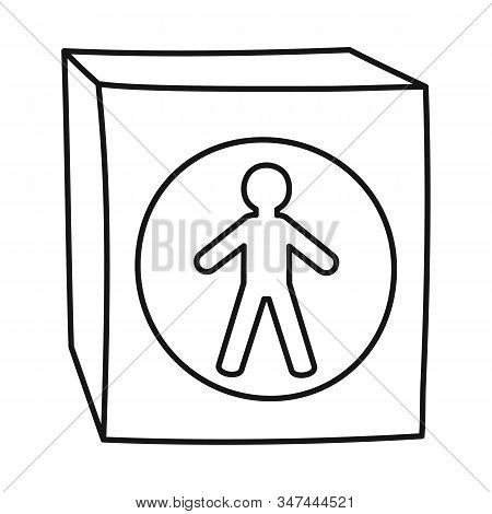 Vector Design Of Stoplight And Light Icon. Web Element Of Stoplight And Signal Stock Symbol For Web.