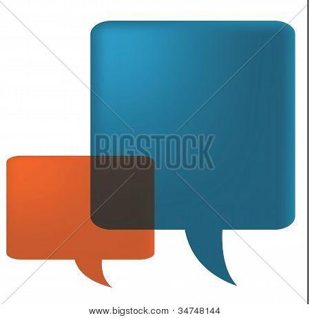 Two Speech Bubbles2.eps