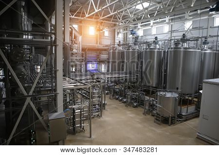 Food Industry, Processing Of Whey Into Milk Powder