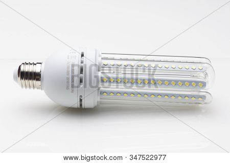 Energy Saving Light Bulbs, Ecological, To Save Energy And Consumption.