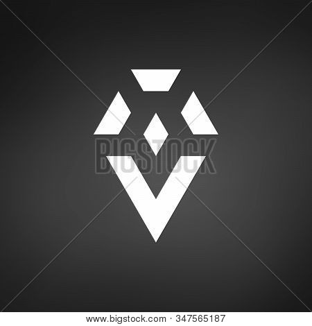 Rystal Or Shiny Diamond Logo, Vip Luxury Concept. Brilliant Jewellery Corporate Identity. Stock Vect