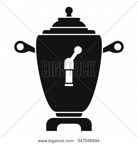 Samovar Icon. Simple Illustration Of Samovar Vector Icon For Web Design Isolated On White Background