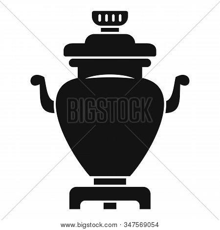 Ceremony Samovar Icon. Simple Illustration Of Ceremony Samovar Vector Icon For Web Design Isolated O