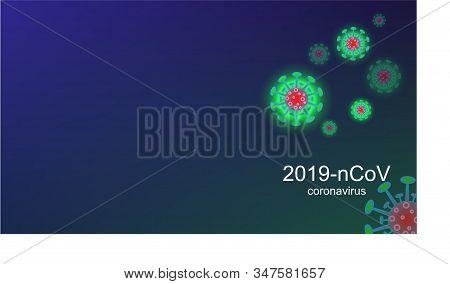 Coronavirus Outbreak And Coronaviruses Influenza Background. Coronavirus 2019-ncov. Pandemic Medical