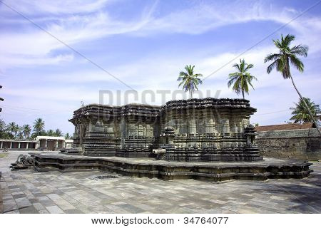 The Chennakeshava Temple,at Belur, Karnataka, India