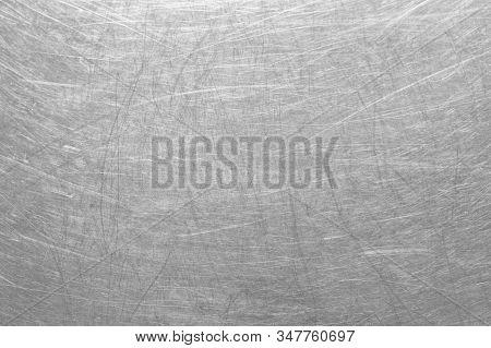 Metal Brushed Texture , Brushed Aluminum For Design Backdrop , Background For Presentations And Web