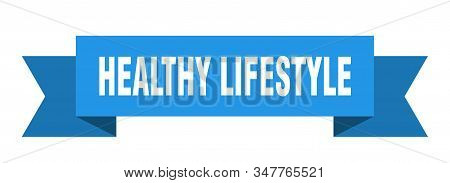 Healthy Lifestyle Ribbon. Healthy Lifestyle Isolated Sign. Healthy Lifestyle Banner