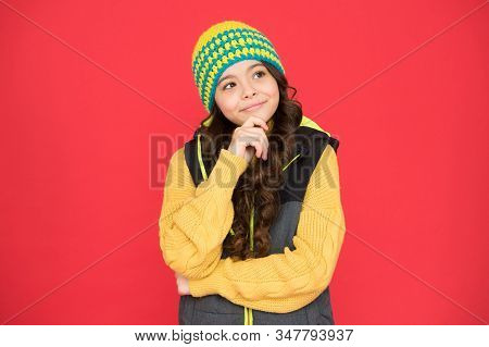 Making Decision. Winter Weather Forecast. Wear Warm Clothes. Winter Accessory. Bright Accessory. Sma