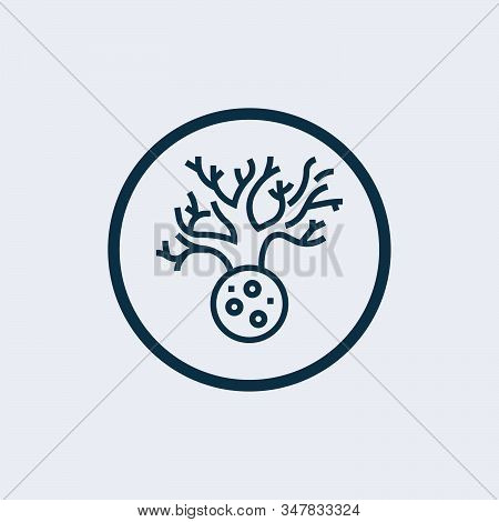 White Blood Cell Icon Isolated On White Background From Medical Collection. White Blood Cell Icon Tr