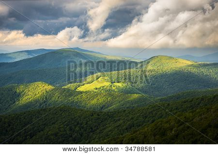 Appalachian Trail At Roan Mountain State Park Blue Ridge Mountains Tennessee