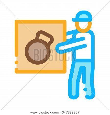 Loader Icon Vector. Outline Loader Sign. Isolated Contour Symbol Illustration