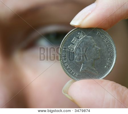 Eye And Coin
