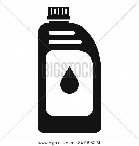 Car Motor Oil Icon. Simple Illustration Of Car Motor Oil Vector Icon For Web Design Isolated On Whit