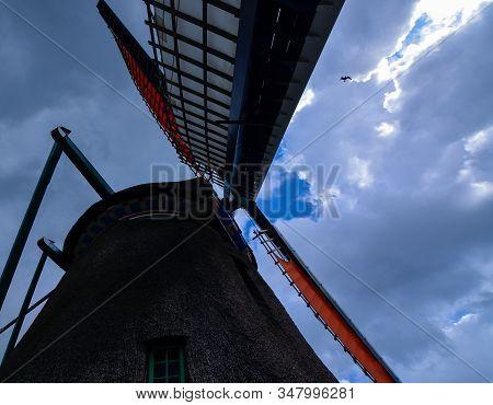 Zaanse Schans, Holland, August 2019. Northeast Of Amsterdam  On The Zaan River. A Particular Point O