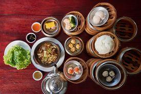 Buk Kut Teh, a local food including many menu.