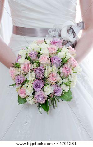 Brides Flowers Closeup